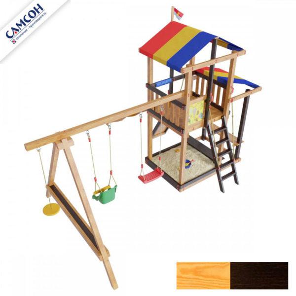 детская площадка для дачи самсон Кирибати комби2