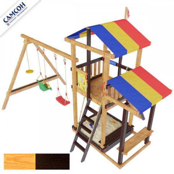 детская площадка для дачи самсон Кирибати комби3