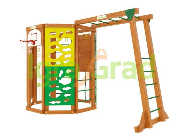 Детский спортивный комплекс для дачи Workout с рукоходом с бесплатной доставкой