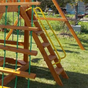 перила металлические для лестницы 1