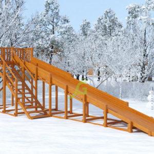 zimnjaja gorka snow fox skat 10 m