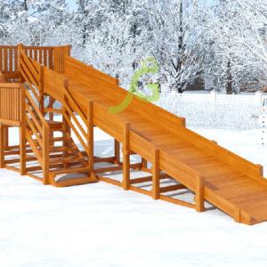 Зимняя горка Snow Fox, скат 8 м 6