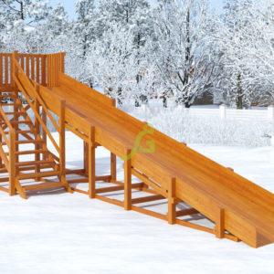 zimnjaja gorka snow fox skat 8 m
