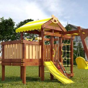 детский игровой комплекс для дачи савушка baby play 2
