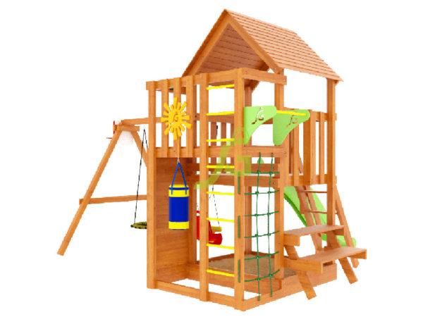 Детская площадка IgraGrad Крафт Pro 3 (скат 2,2)-2