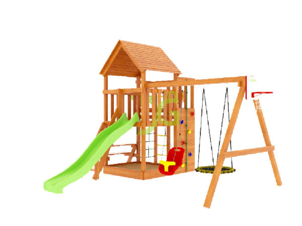 Детская площадка IgraGrad Крафт Pro 3 (скат 2,2)-5