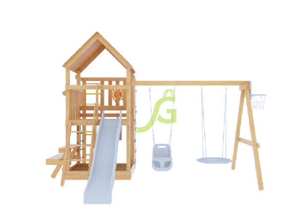 Детская площадка IgraGrad Крафт Pro-4