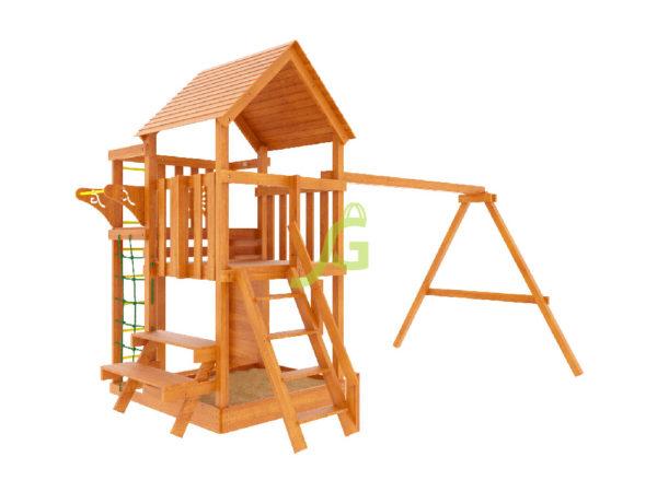 Детская площадка IgraGrad Крафт Pro (окрашенная)-7