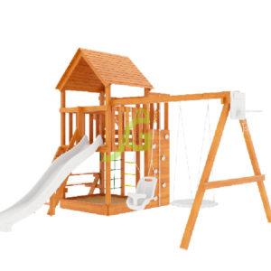 Детская площадка IgraGrad Крафт Pro (окрашенная)