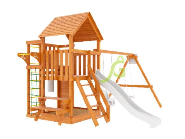 Детская площадка IgraGrad Крафт Pro (окрашенная)-3