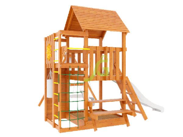 Детская площадка IgraGrad Крафт Pro (окрашенная)-2