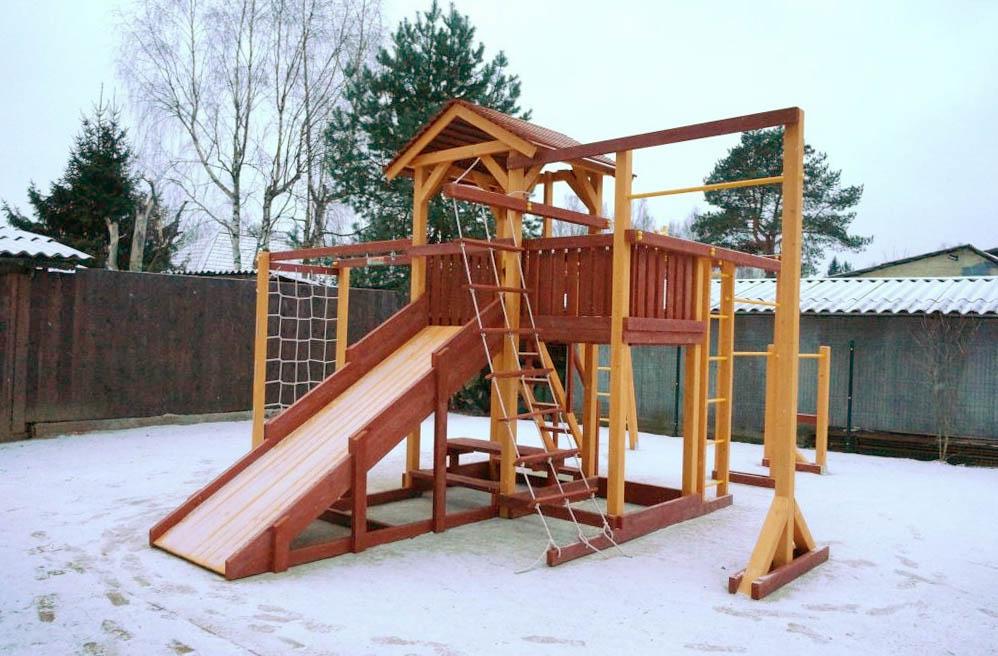 Детская площадка Савушка Семейная 4 сезона – 10