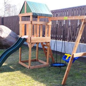 BabygARDEN PLAY 1 с качелями-гнездо 0,6м.