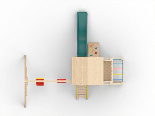 Детская игровая площадка Лео-4