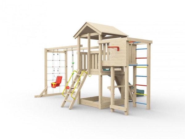 Детская игровая площадка Лео макси-1