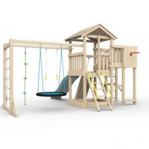 Детская игровая площадка Лео макси с гнездом