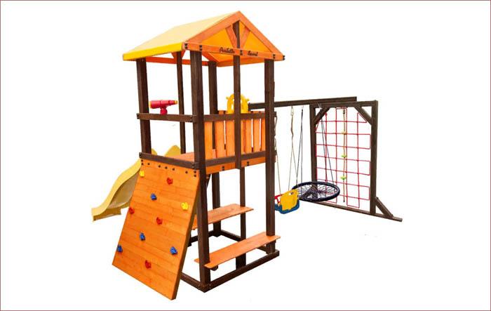 Детская площадка Perfetto sport Bari 11 с гнездом