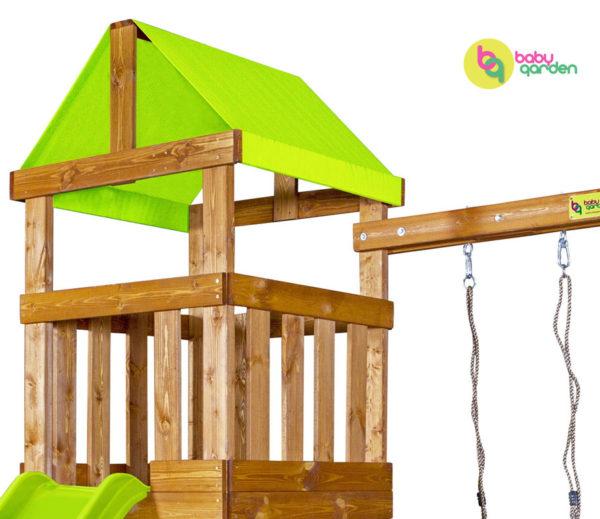 Детская игровая площадка Babygarden Play 1 (light green)-2
