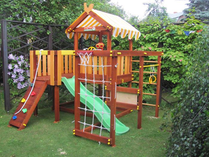 Детская площадка Савушка Baby Play