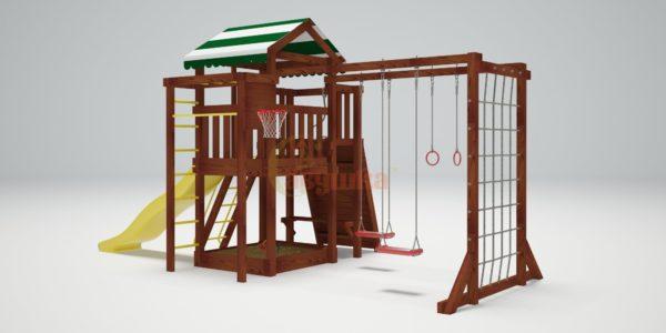 Детская площадка Савушка ХИТ 3-1