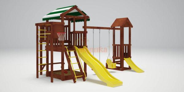 Детская площадка Савушка ХИТ 4-4-720