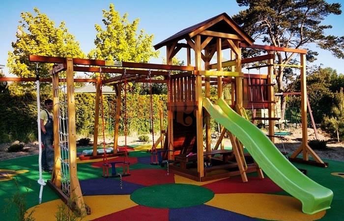Детская площадка Савушка Семейная-фото1-700