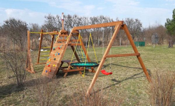 Детская площадка Выше Всех Мини Спорт-фото