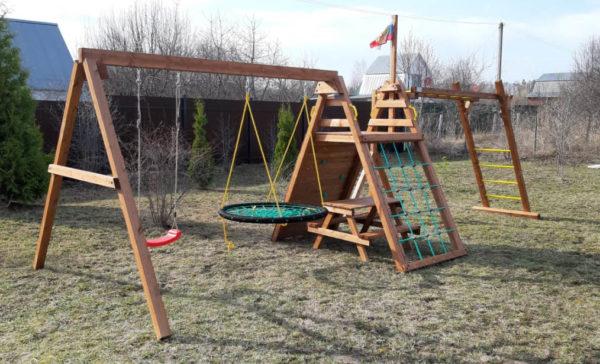 Детская площадка Выше Всех Мини Спорт-фото1