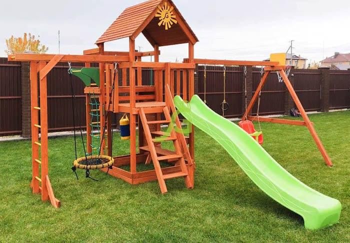 Детские комплексы и площадки для дачи