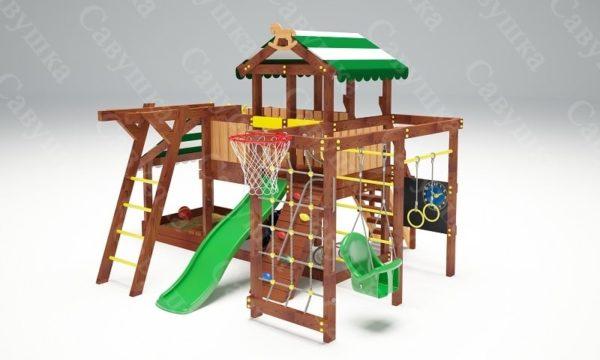 Детский игровой комплекс для дачи САВУШКА BABY PLAY – 13-2
