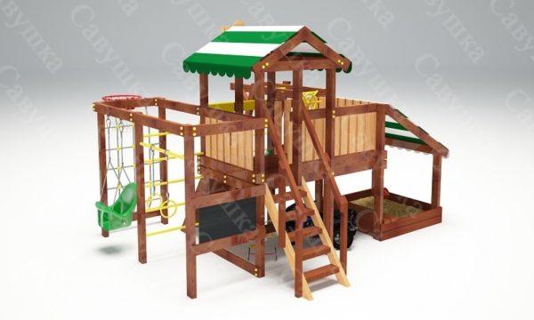 Детский игровой комплекс для дачи САВУШКА BABY PLAY – 13-3