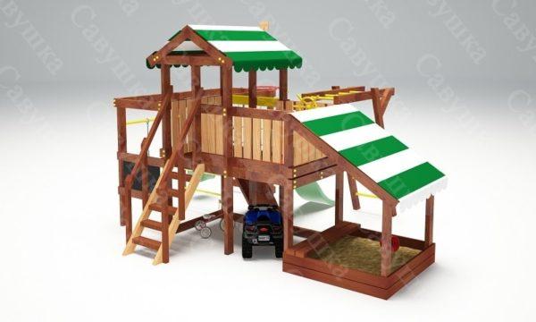 Детский игровой комплекс для дачи САВУШКА BABY PLAY – 13-4