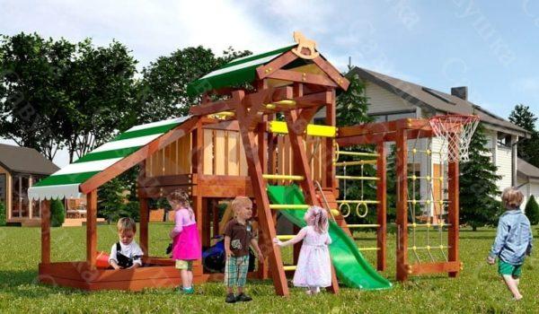 Детский игровой комплекс для дачи САВУШКА BABY PLAY – 13