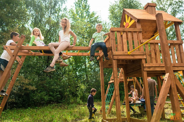Комплектация детской площадки