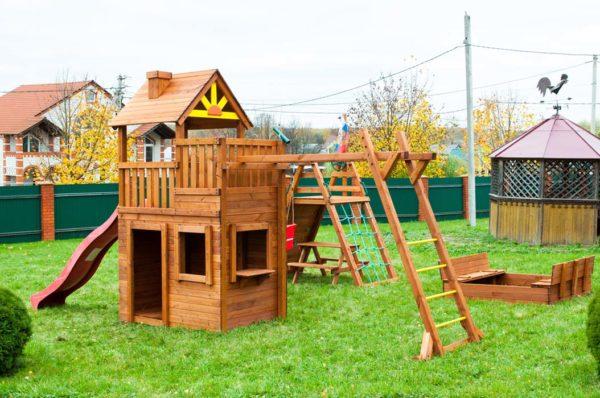 Детская площадка Крепость Викингов