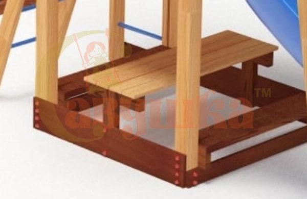 Столик с двумя лавочками-1-650