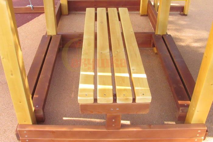 Столик с двумя лавочками-2-700