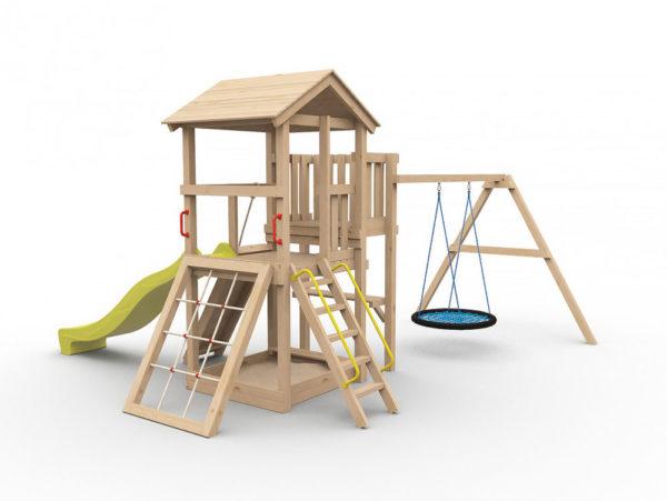Детская игровая площадка Барни с гнездом1