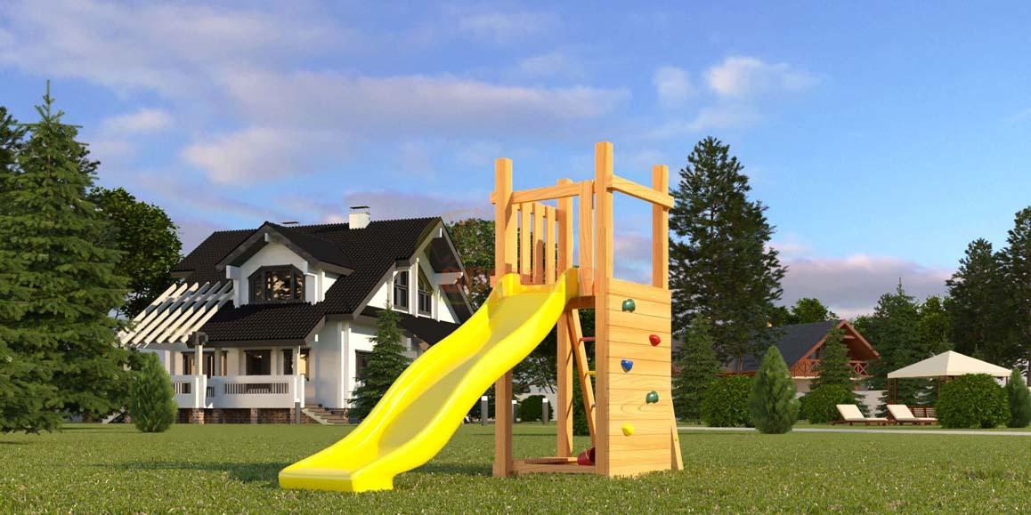 Детская площадка Савушка Мастер 6 без качелей