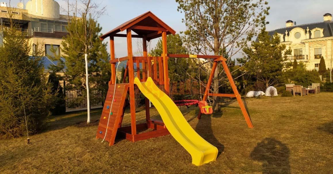 Детские игровые комплексы для дачи