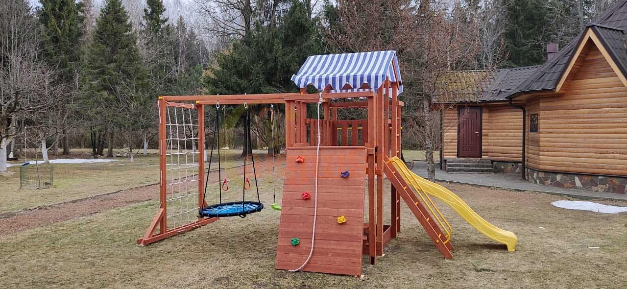 детские площадки и игровые комплексы для дачи популярные сейчас