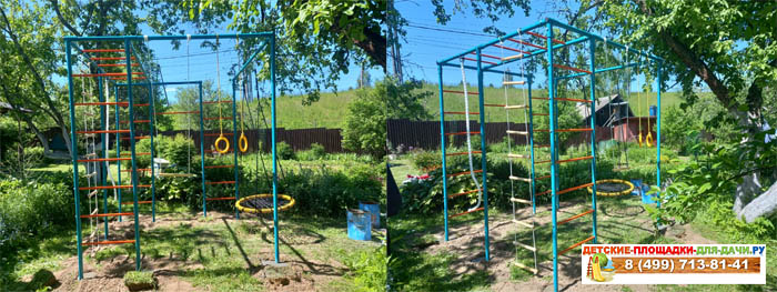 Детская площадка Че-спорт Мини с качелями-гнездо