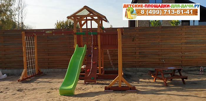 Детская площадка для дачи Савушка 15 сборка