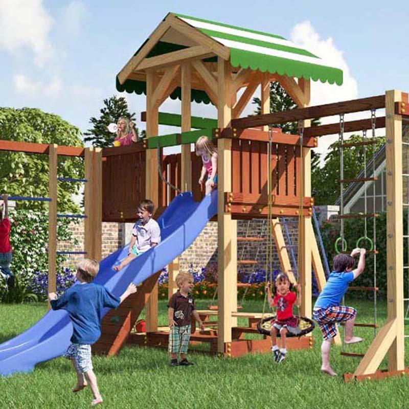 детская площадка для дачи Савушка 15