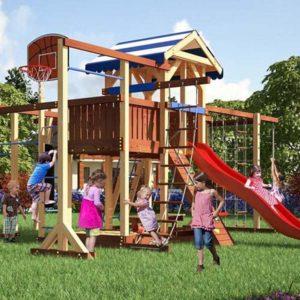 детская площадка для дачи Савушка Семейная