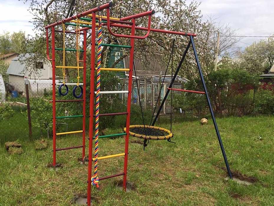 детская площадка из металла 2