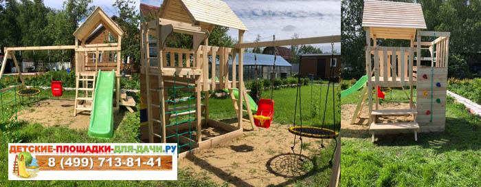 Детская площадка Крафт Про 1 сборка