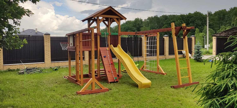Детские игровые комплексы для дачи 1500