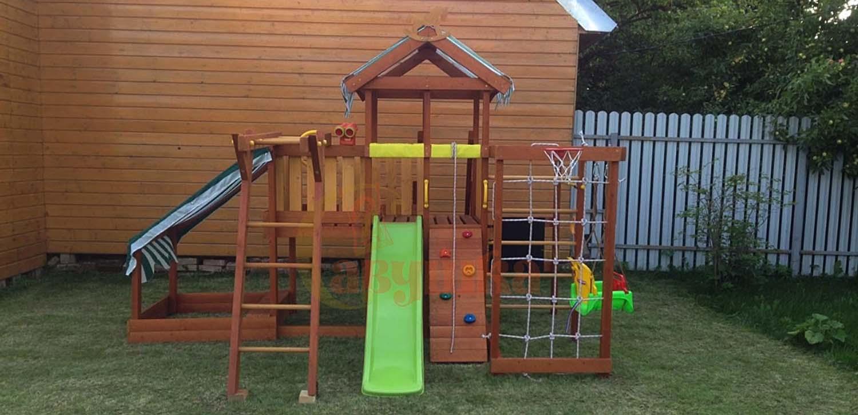 Детские площадки для дачи для самых маленьких