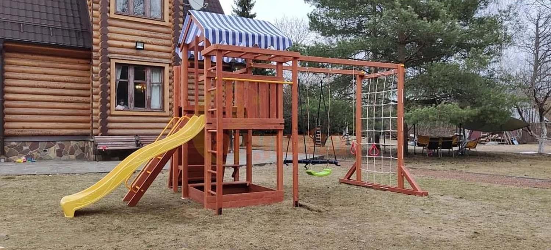 Детские площадки для дачи популярные сейчас 1500